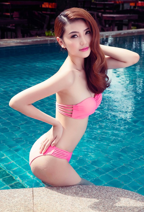 Giải đồng Siêu mẫu gây choáng ngợp với bikini gợi cảm - 9
