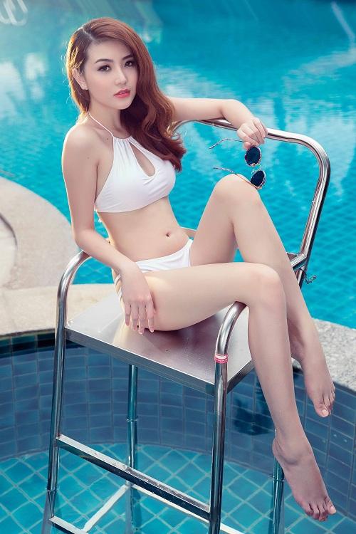Giải đồng Siêu mẫu gây choáng ngợp với bikini gợi cảm - 11