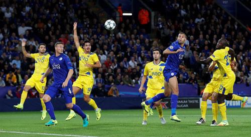 Leicester lập kỷ lục ở Cúp C1, mơ là Chelsea năm 2012 - 1