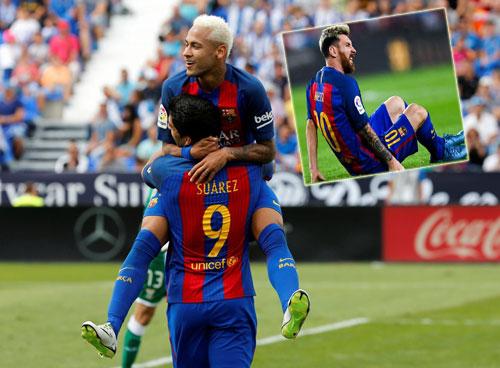 M'Gladbach – Barca: Messi, hãy cứ yên tâm - 1