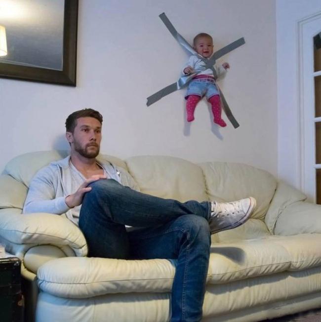 Đừng bao giờ để trẻ ở nhà một mình với bố.