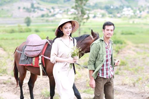 Angela Phương Trinh giản dị hiếm thấy trong phim mới - 3