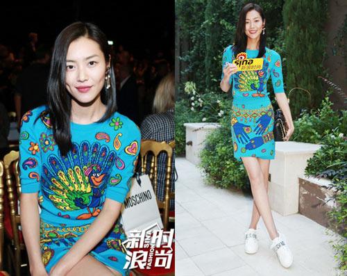 Dàn sao châu Á hội tụ nhan sắc tại Milan Fashion Week - 1