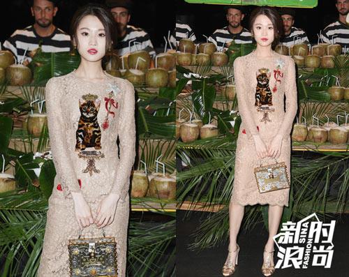 Dàn sao châu Á hội tụ nhan sắc tại Milan Fashion Week - 14