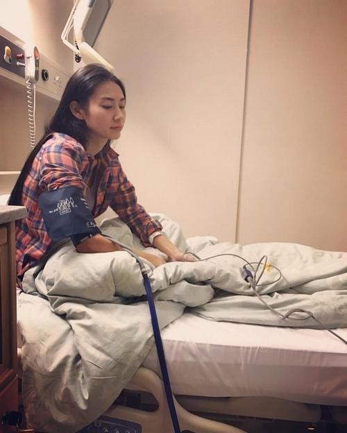 Á hậu nhập viện cấp cứu sau khi bị ép đóng cảnh phòng the - 1