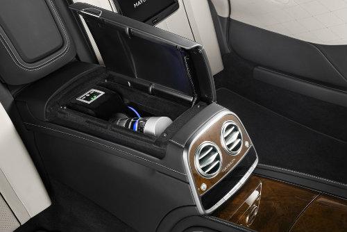 Mercedes-Maybach S600 Pullman có giáp mạnh như xe tăng - 7