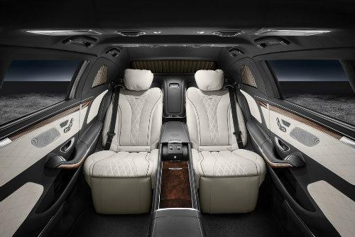 Mercedes-Maybach S600 Pullman có giáp mạnh như xe tăng - 2