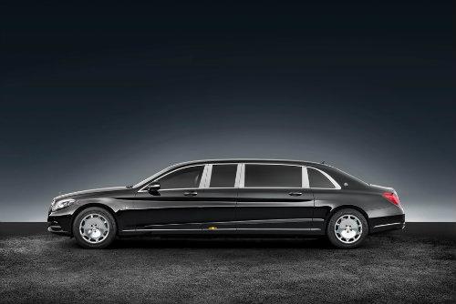Mercedes-Maybach S600 Pullman có giáp mạnh như xe tăng - 5