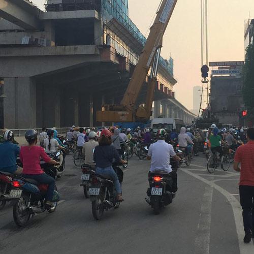 Nhà thầu tuyến đường sắt Cát Linh - Hà Đông bị phạt 30 triệu - 1