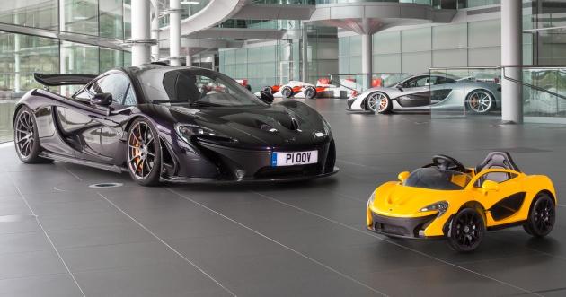 """Ngắm McLaren P1 phiên bản nhí mui trần """"cực chất"""" - 1"""