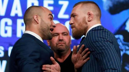 """""""Gã điên"""" nóng mắt tắt nụ cười với nhà vô địch UFC - 1"""