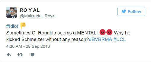 Trả đũa đối thủ, Ronaldo có nguy cơ bị cấm 3 trận - 5
