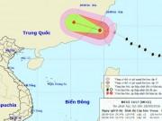 Bão MEGI giật cấp 14-15 đi vào Biển Đông