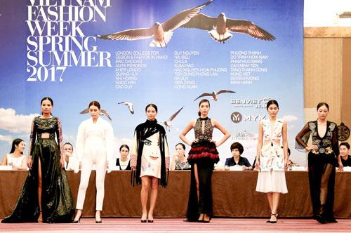 Hé lộ những thiết kế từ Vietnam Fashion Week 2017 - 2