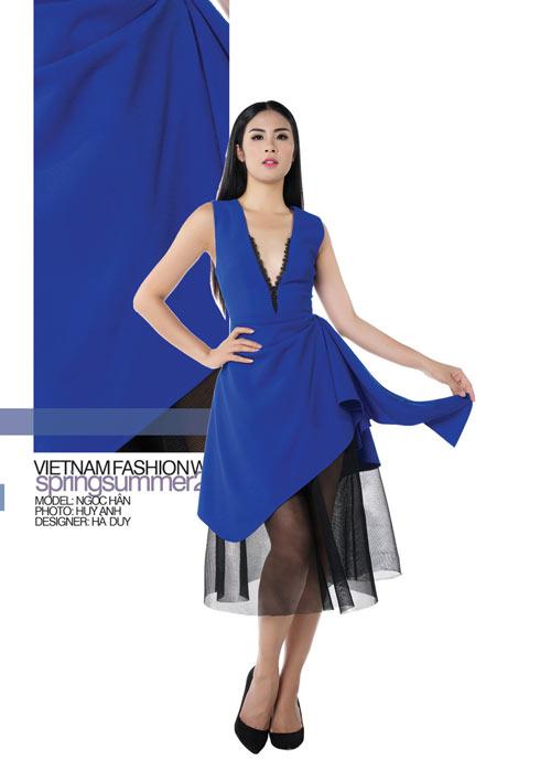 Hé lộ những thiết kế từ Vietnam Fashion Week 2017 - 3