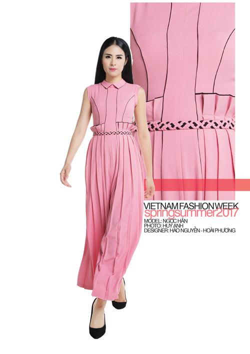 Hé lộ những thiết kế từ Vietnam Fashion Week 2017 - 4