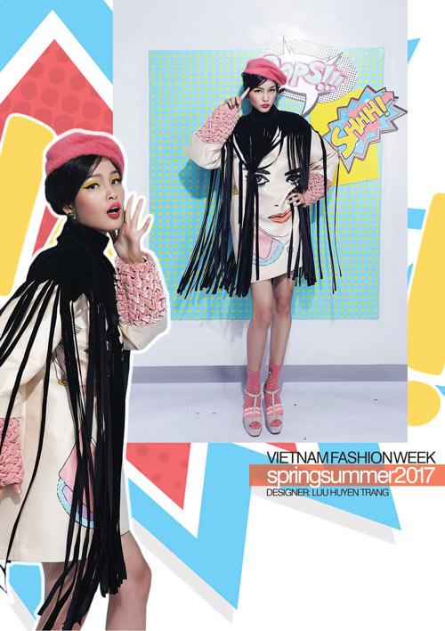 Hé lộ những thiết kế từ Vietnam Fashion Week 2017 - 8