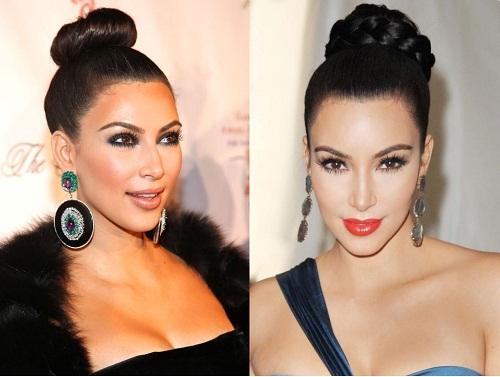 Những mái tóc làm nên tên tuổi Kim Kardashian - 7