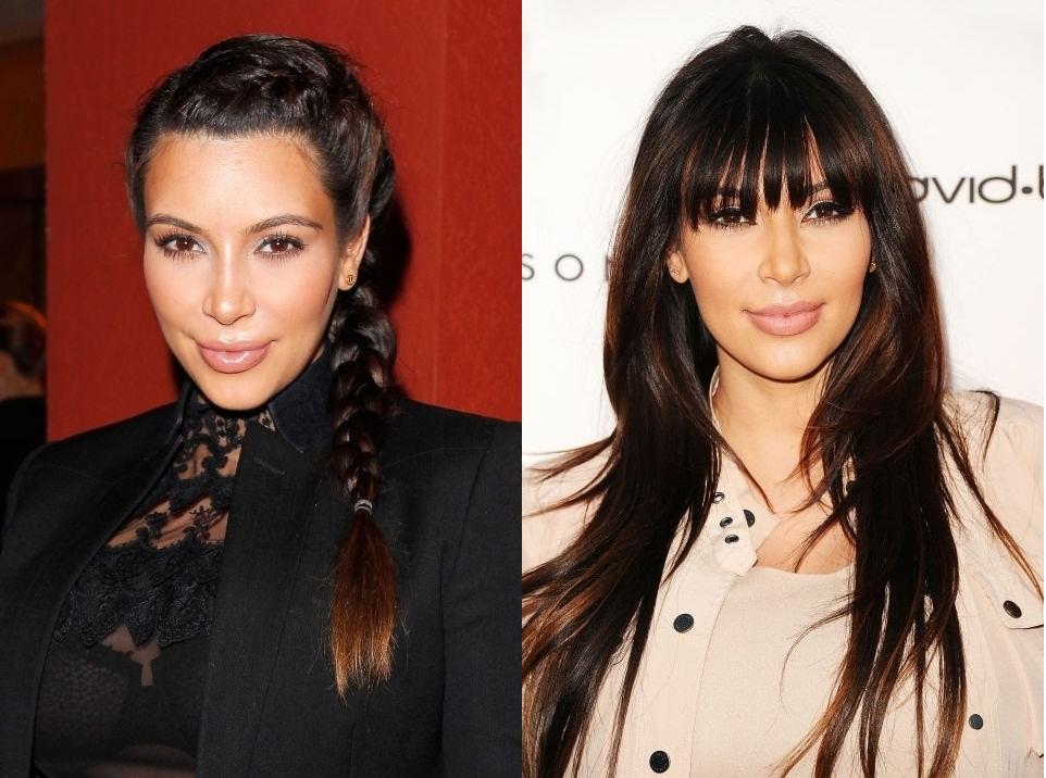 Những mái tóc làm nên tên tuổi Kim Kardashian - 9