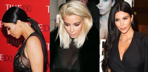 Những mái tóc làm nên tên tuổi Kim Kardashian - 11