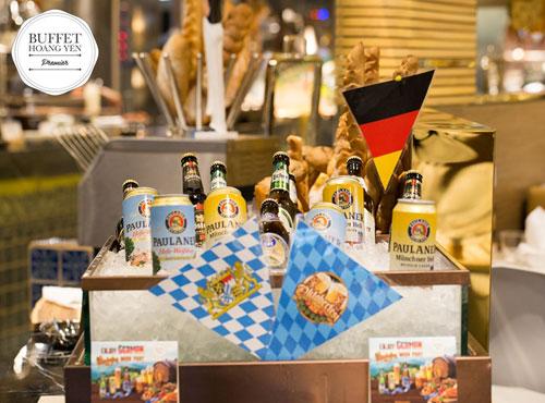 Quá sốc với bia Đức giá gốc tại Octoberfest của Hoàng Yến Buffet Premier - 2
