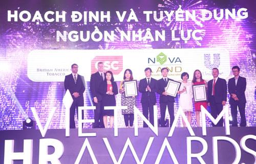 Novaland đoạt 03 giải thưởng cho 03 hạng mục tại Việt Nam HR Awards 2016 - 4