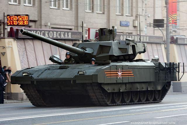 Siêu áo giáp T-14 Armata khiến xe tăng Mỹ, NATO vô dụng - 1