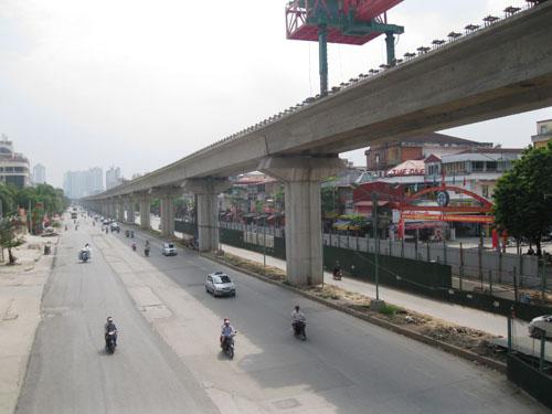 Chốt thời gian khai thác đường sắt Cát Linh - Hà Đông - 1