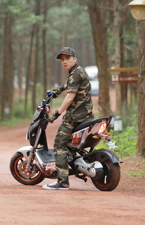 Chiêm ngưỡng vẻ đẹp của HKbike X-men Plus 2016 mê hoặc giới trẻ Việt - 8