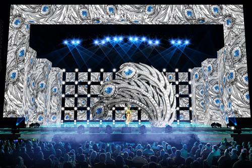 Ngắm sân khấu lộng lẫy tiêu tốn 5 tỷ của Mr Đàm - 3