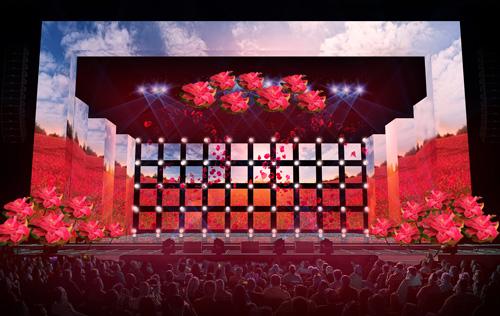 Ngắm sân khấu lộng lẫy tiêu tốn 5 tỷ của Mr Đàm - 6