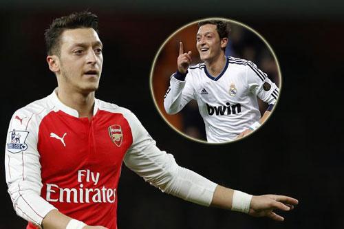 Mặc lương số 1 ở Arsenal, Ozil ấp ủ trở lại Real - 1