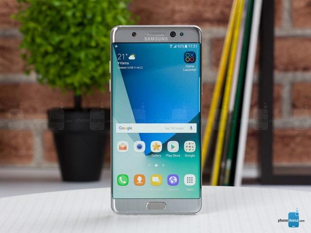 Samsung Galaxy Note 7 bản thay thế tiếp tục gặp sự cố pin - 1