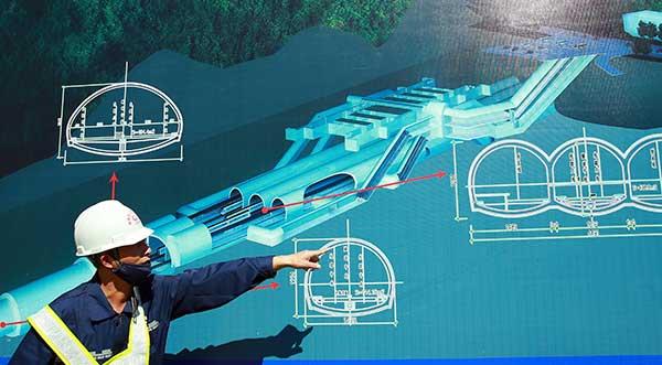 TQ xây ga lớn nhất thế giới bên dưới Vạn Lý Trường Thành - 2