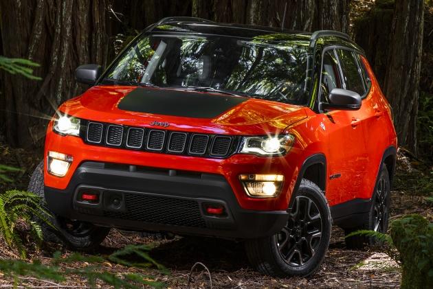 Jeep Compass 2017: Chiếc SUV nhỏ nhắn và năng động - 1