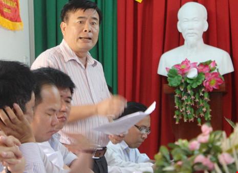 Nguyên phó chánh thanh tra kiện chủ tịch tỉnh Hậu Giang - 1