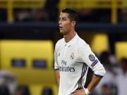 Máy bay của Ronaldo gặp tai nạn ở Barcelona