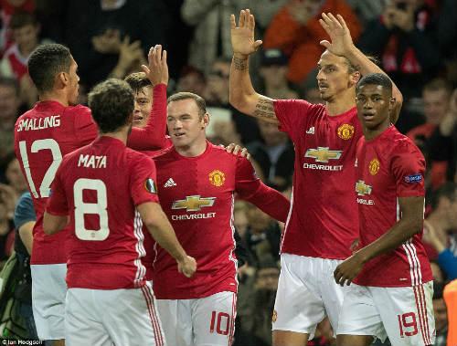 MU: Rooney chỉ nên đá chính những trận đấu lớn - 1