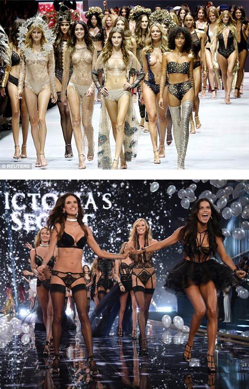 """Màn diễn nội y bốc lửa của """"đối thủ Victoria's Secret"""" - 20"""