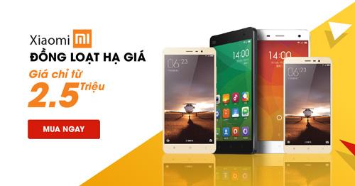 Xiaomi Mi 5S ra mắt- Xiaomi đồng loạt hạ giá mạnh - 5