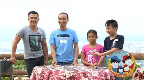 Vân Quang Long – Thụy Vũ trổ tài nấu ăn trên truyền hình - 1