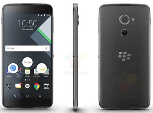 Rò rỉ ảnh và cấu hình BlackBerry cuối cùng – DTEK60 - 1