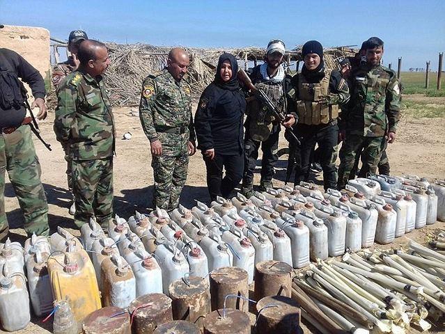 Góa phụ chuyên chặt đầu, thiêu xác khủng bố IS ở Iraq - 4