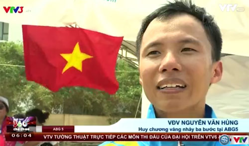 ABG ngày 5: Điền kinh chói sáng, Việt Nam vững ngôi đầu - 1