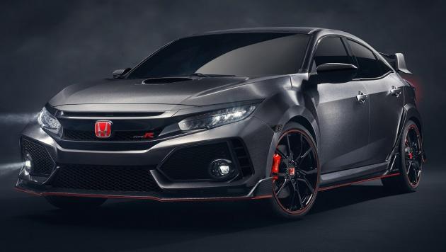 Honda Civic Type R nguyên mẫu sắp ra mắt - 1