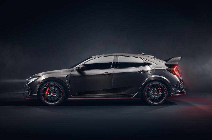 Honda Civic Type R nguyên mẫu sắp ra mắt - 2
