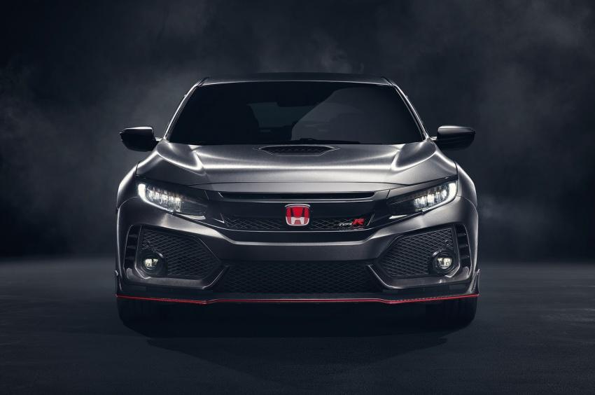 Honda Civic Type R nguyên mẫu sắp ra mắt - 4