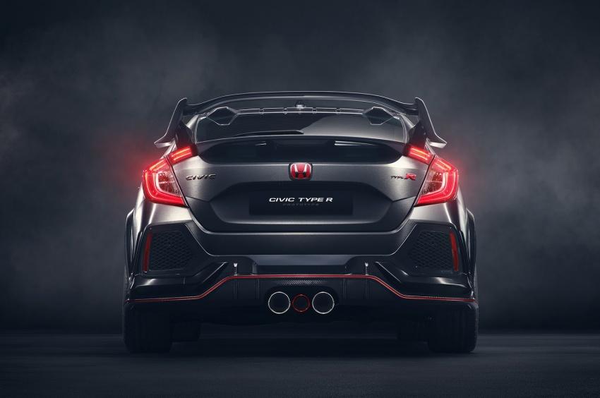 Honda Civic Type R nguyên mẫu sắp ra mắt - 5