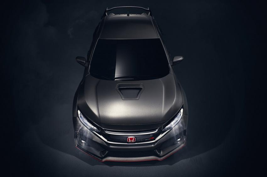 Honda Civic Type R nguyên mẫu sắp ra mắt - 3