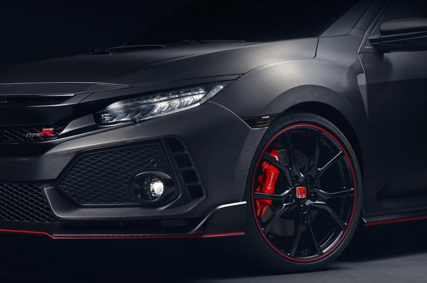 Honda Civic Type R nguyên mẫu sắp ra mắt - 6